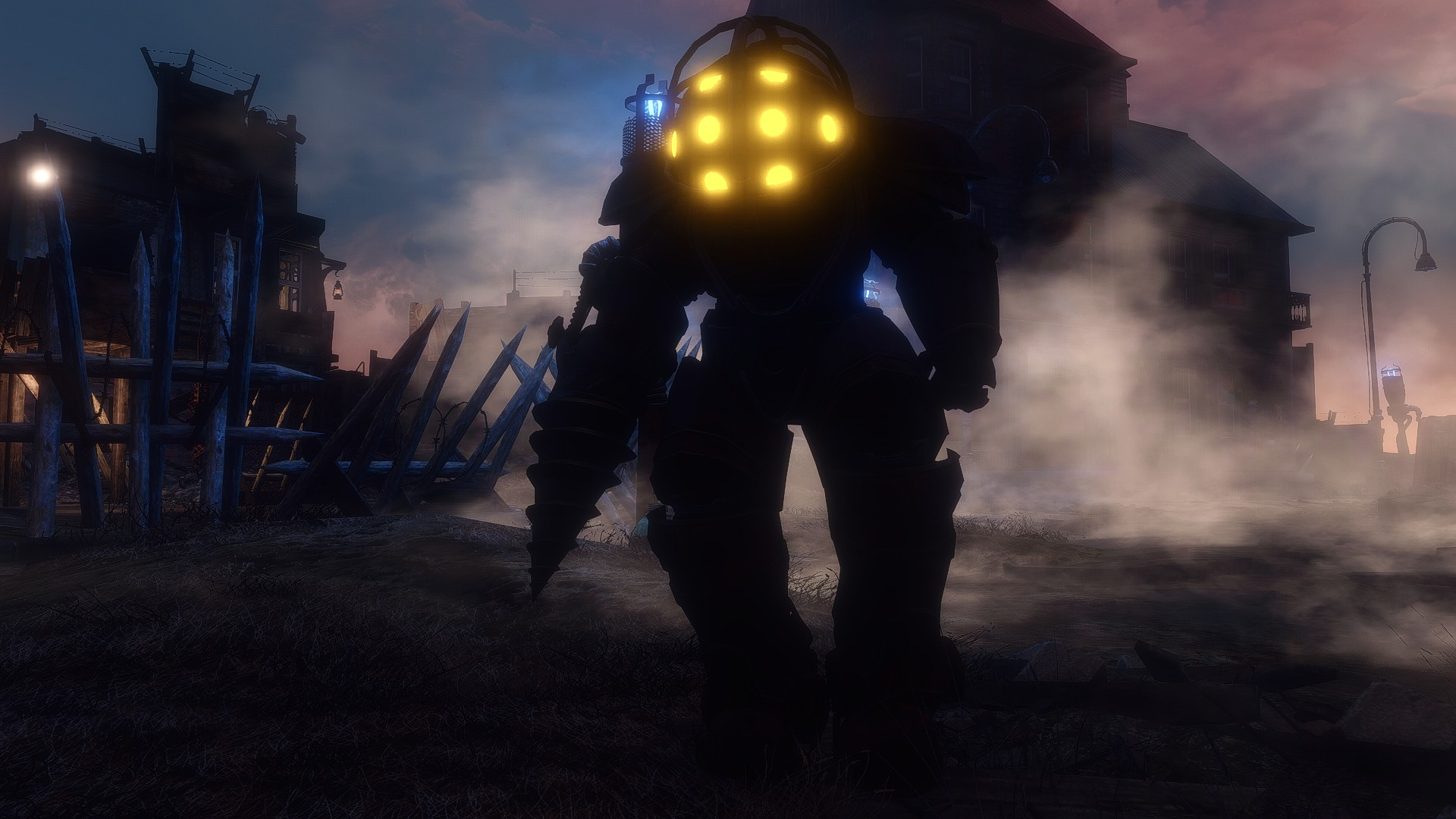 Submersible power armor bioshock inspired for Production vault