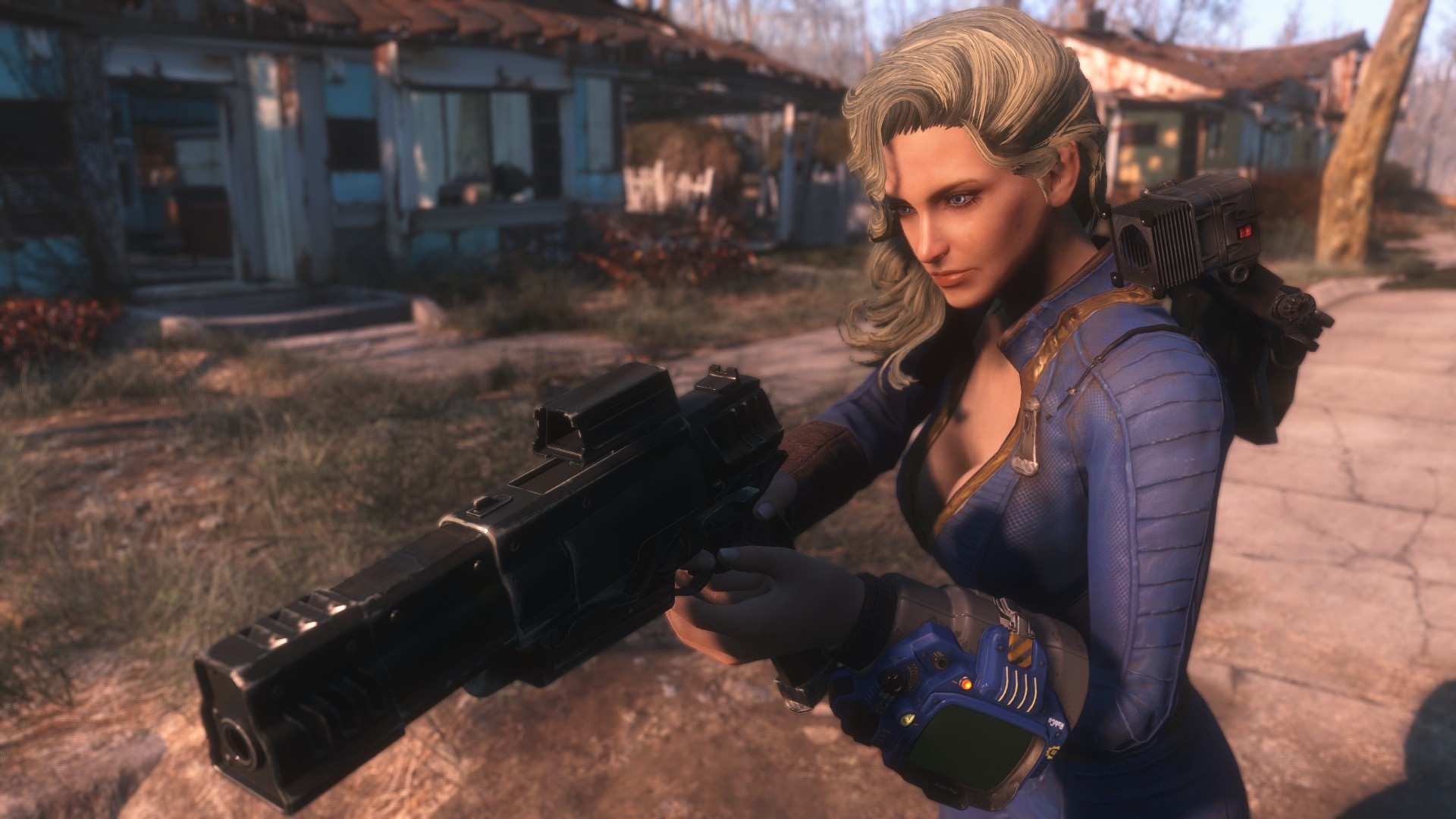 TNR Shoulder Lamp 日本語化対応 バックパック - Fallout4 Mod ...