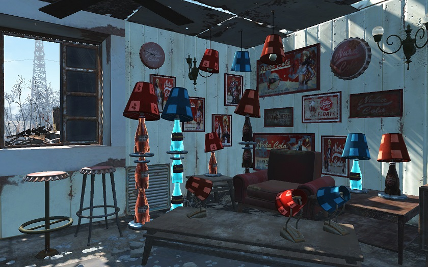 Mod fallout4 mod for Fallout 4 interior decorating