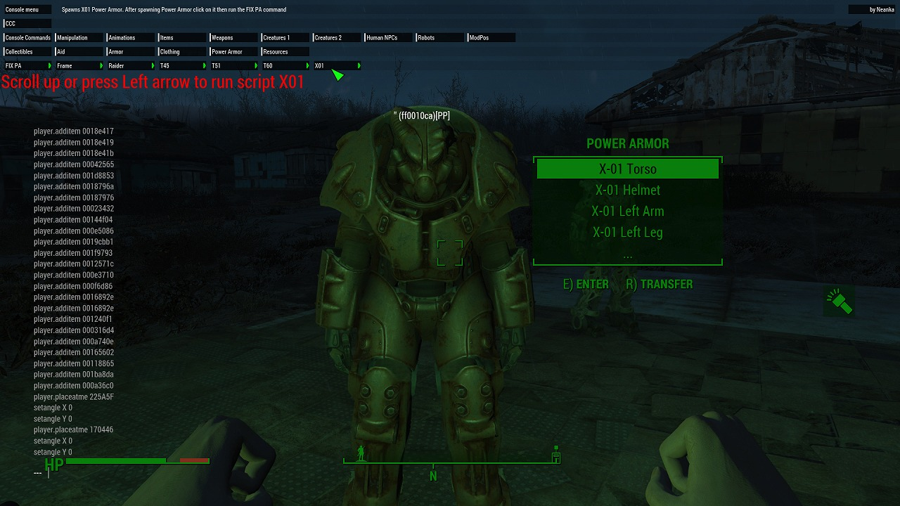 how to increase carry weight fallout 4 console command
