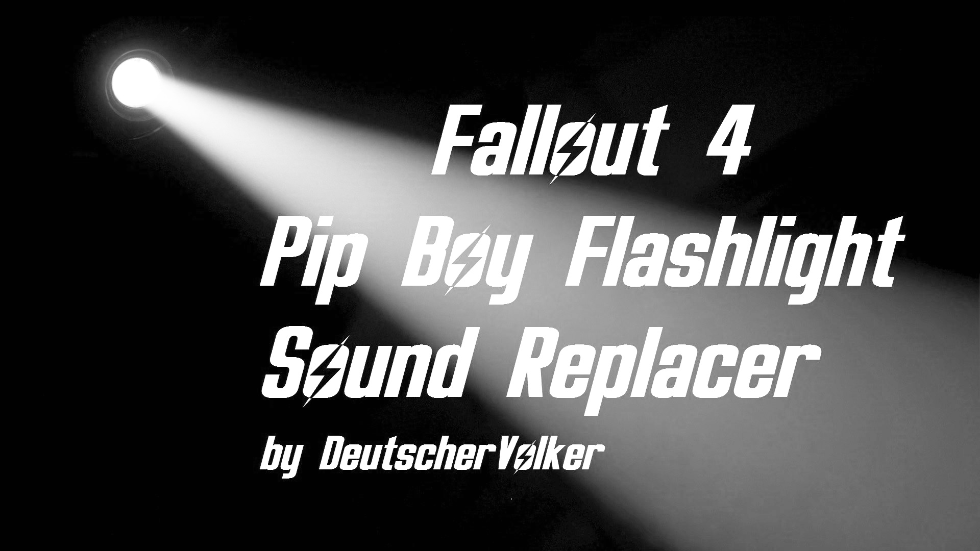 Pip Boy Light - Flashlight Sound Replacement オーディオ