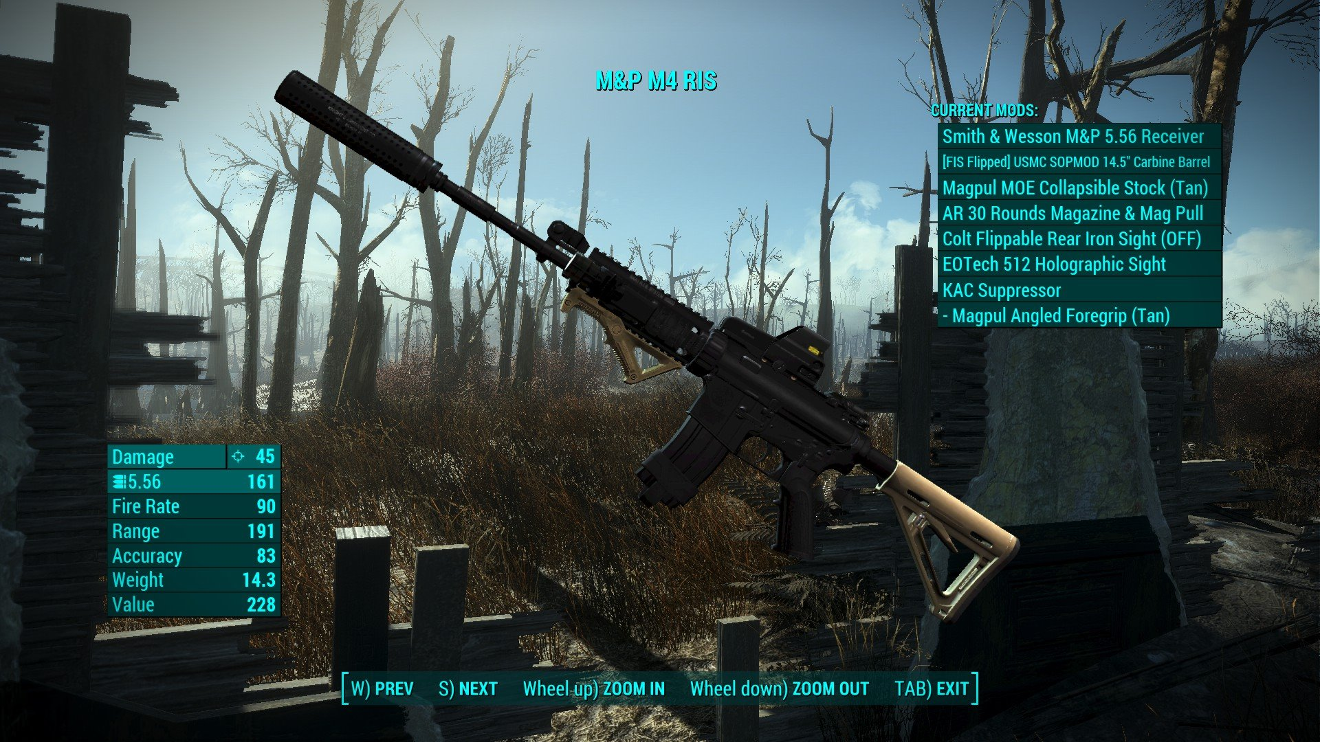 Fallout 4 Modern Weapons