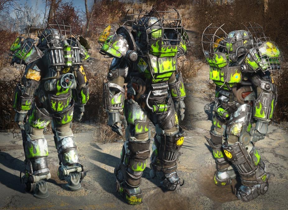raider power armor chop shop パワーアーマー fallout4 mod