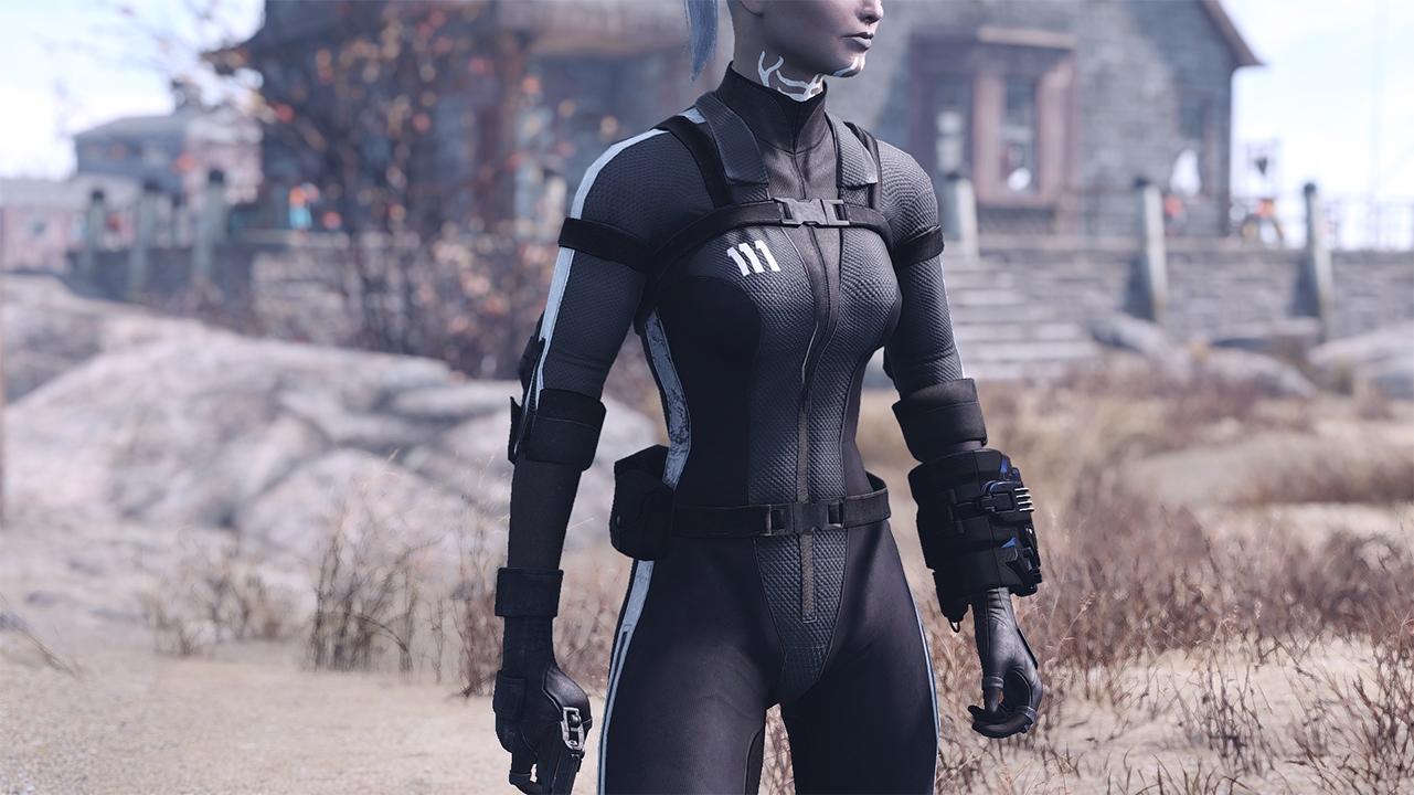 Vault Jumpsuit Fallout 4 Mod – DACC