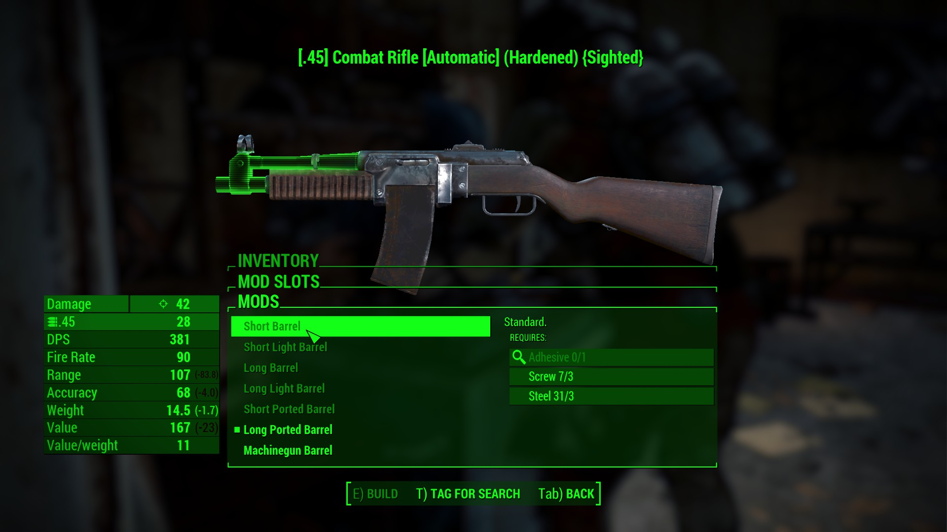 better combat rifle mesh 武器 fallout4 mod データベース mod紹介