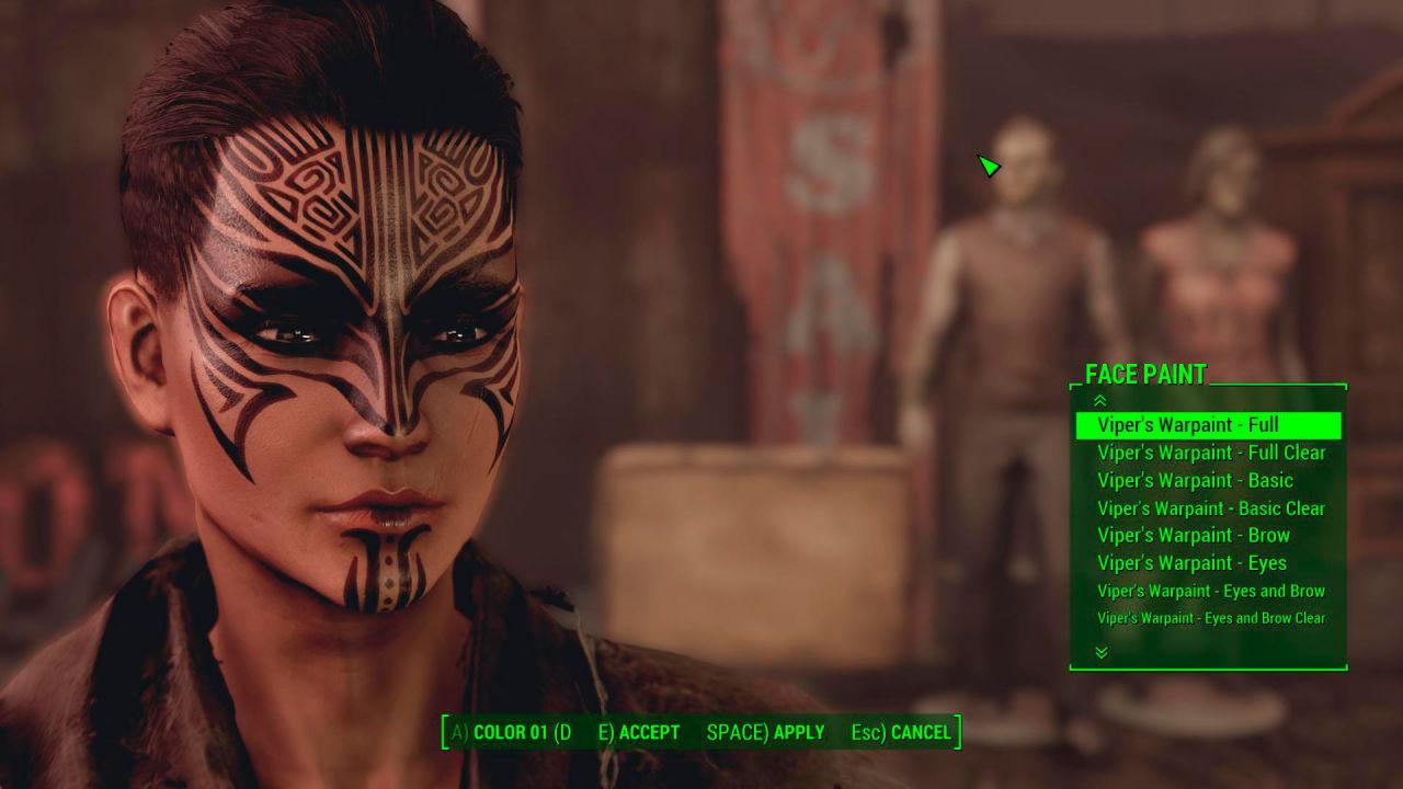 化粧 おすすめMOD順 - Fallout4 Mod データベース
