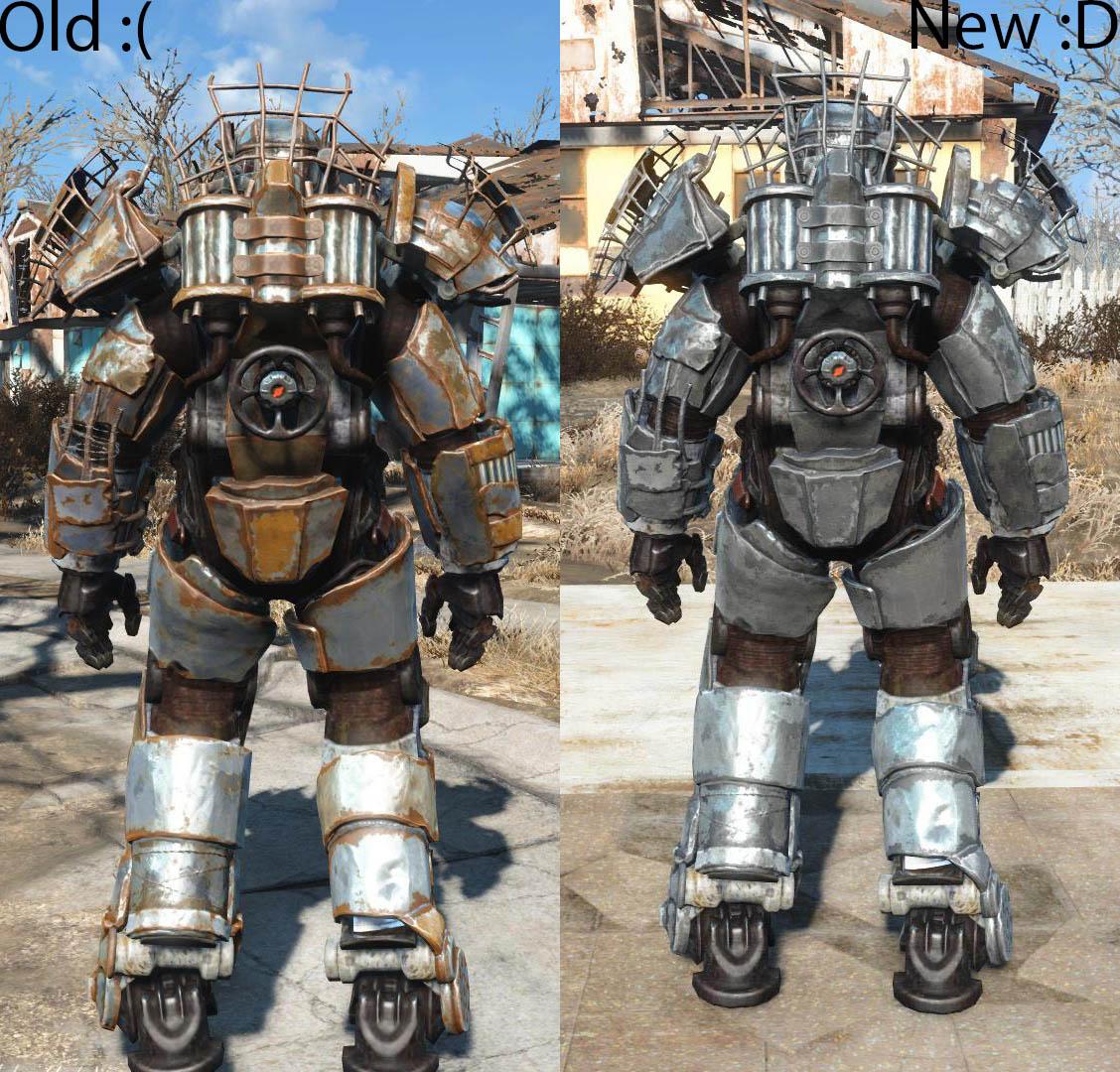 steel raider power armor パワーアーマー fallout4 mod データベース