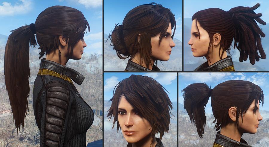 髪・顔・体 おすすめMOD順 - Fallout4 Mod データベース