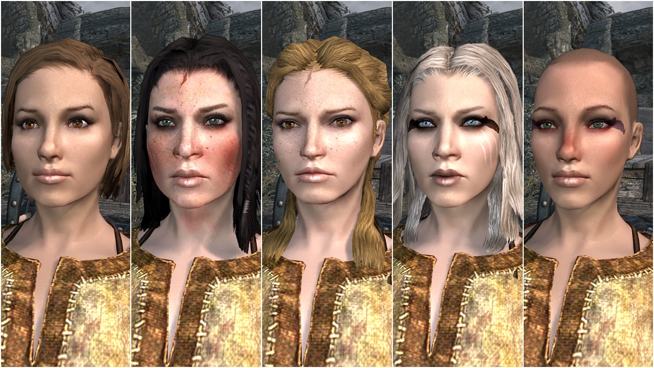 skyrim total character makeover