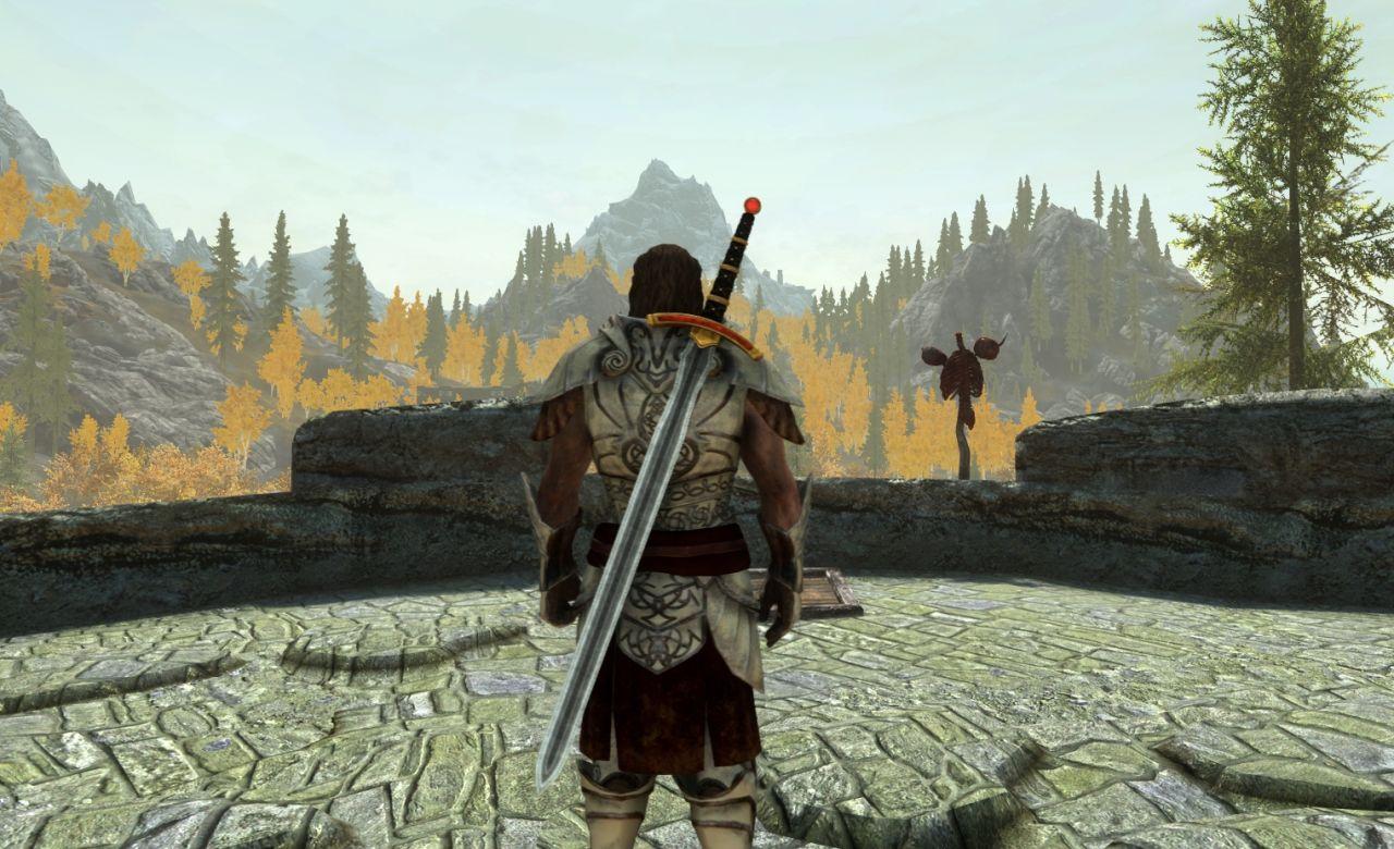 Chrysamere 武器 - Skyrim Special Edition Mod データベース MOD紹介