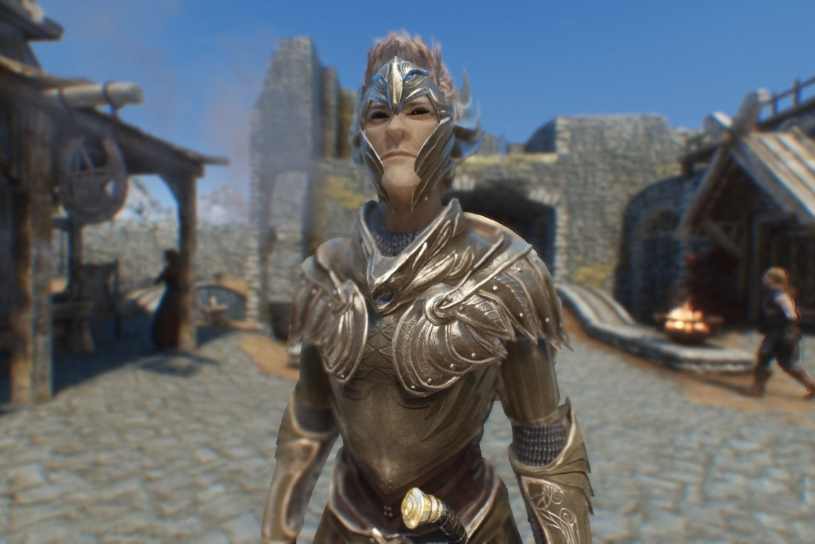 Truly Light Elven Armor (male) - Replacer - Standalone 鎧