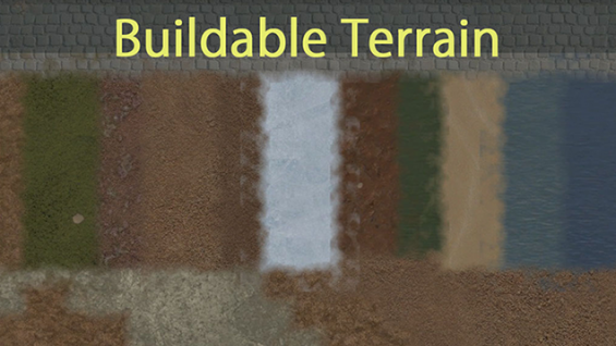 Buildable Terrain b19 / v1 日本語化対応 1 0 - RimWorld Mod